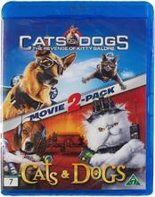 Blu-Ray Kuin Kissat Ja Koirat 1 2