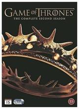 Game Of Thrones 2. Tuotantokausi Dvd