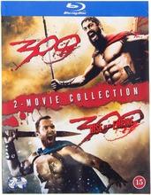 Blu-Ray 300 / 300: Imperiumin Nousu - 2 Elokuvaa