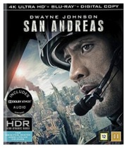 Blu-Ray San Andreas