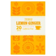 Tesco  lemon & ginger ...