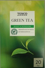 Tesco 50G Vihreä Tee 20Ps