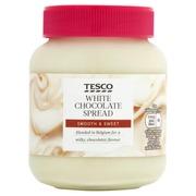 Tesco 400g White Chocolate Spread levite