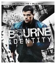 4Kblu-Ray Bourne Identity