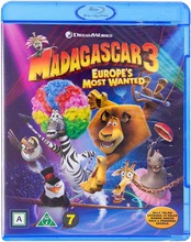 Blu-Ray Madagascar 3