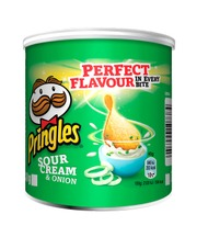 Pringles Small Can Sour Cream & Onion 40G