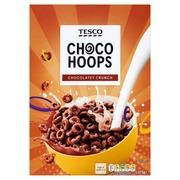Tesco 375g suklaanmakuisia vehnämuroja sokeri-kaakaokuorrutteella vitaminoitu