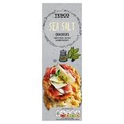 Tesco 185G Sea Salt Crackers Suolakeksit