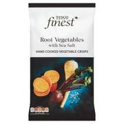 Tesco Finest 125g Root Vegetable Sea Salt Crips