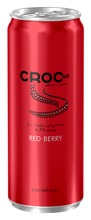 Croc Tail 330Ml E   Vodka Red Berry 4,7% Cocktail Alkoholijuoma