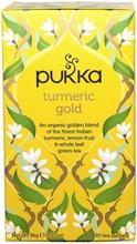 Pukka Yrttitee Turmeric Gold Luomu 20P