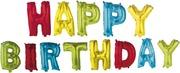 Decorata Party Foliopallot Happy Birthday