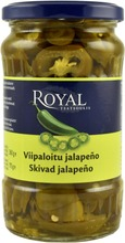 Royal 360/175g viipaloitu vihreä jalapeno