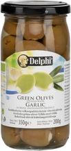 Delphi 350/200G Oliivi Valkosipulitäyte