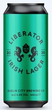 Dublin City Brewing Liberator Lager 4.2%