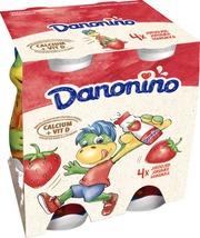 Danone Danonino Mansikka Jogurttijuoma 4X100g
