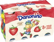 Danone Danonino Mansikka Jogurttijuoma 8X100g