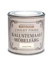 Rust-Oleum Chalky Finish 125Ml Kalustemaali Vesiohenteinen Luonnonvalkoinen