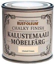 Rust-Oleum Chalky Finish Kalustemaali 125Ml Clotted Cream