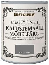 Rust-Oleum Chalky Finish 750Ml Kalustemaali Vesiohenteinen Hajuton Harmaa