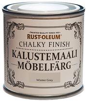 Rust-Oleum Chalky Finish 125Ml Kalustemaali Vesiohenteinen Runsaspigmenttinen Harmaa