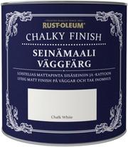Rust-Oleum Chalky Finish 2,5L Seinämaali Vesiohenteinen Runsaspigmenttinen Valkoinen