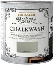 Rust-Oleum Chalkwash 1L Seinämaali Vesiohenteinen Vaaleanharmaa
