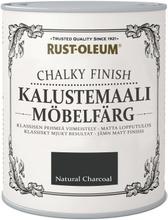 Rust-Oleum Chalky Finish 750Ml Kalustemaali Runsaspigmenttinen Hajuton Vesiohenteinen Hiili