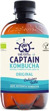 400ml The Gutsy Captain Kombucha Original kombucha-juoma LUOMU