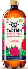 950Ml The Gutsy Captain Kombucha California Raspberry, Vadelmanmakuinen Kombucha-Juoma Luomu