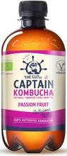 400Ml The Gutsy Captain Kombucha Passion Fruit, Passionhedelmänmakuinen Kombucha-Juoma Luomu