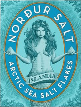 Nordur Salt 250G  Artic Sea Salt Flakes