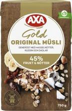 Axa Müsli Gold Original 750 G