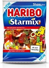 Haribo Starmix 270 G Hedelmän- Ja Colanmakuinen Viinikumi-Vaahto