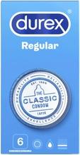 6 kpl Regular kondomi
