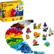 11013 Luovan Rakentajan Läpinäkyvät Palikat Lego