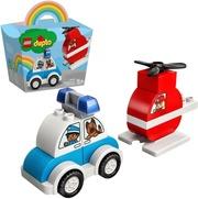10957 Sammutushelikopteri Ja Poliisiauto Lego