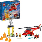 60281 Palokunnan Pelastushelikopteri Lego