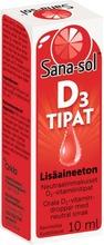 D3-vitamiinitipat 10µg...