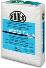 Ardex F 5, Kuituvahvistettu Viimeistelytasoite 12,5 Kg