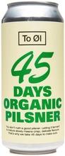 To Øl 45 Days Organic Pilsner 4.7% 0,44L Oluttölkki