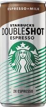 Starbucks 200 ml Doubleshot Espresso maitokahvijuoma