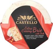 Castello Extra Creamy Brie With Chili 180G