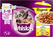 Whiskas Junior Ragout Siipikarjalajitelma hyytelössä 12x85g