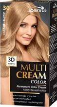 Multi Cream Color Caramel Blond 30 Hiusväri
