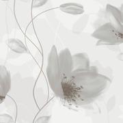 Simple Nature Tapetti Shiny Flowers 274546