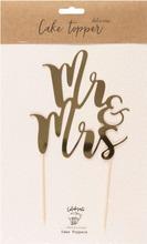 Kakunkoriste Mr&Mrs 25,5cm kullanvärinen