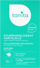 Tanita Hair Removal Wax Strips For Body Aloe Vera 6X2pcs