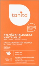 Tanita Hair Removal Wax Strips For Body Honey 6X2pcs