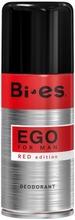 Bi-Es 150ml Ego Red Deodorant